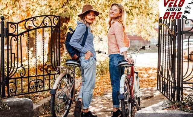 Стильный женский велосипед - Фото #1