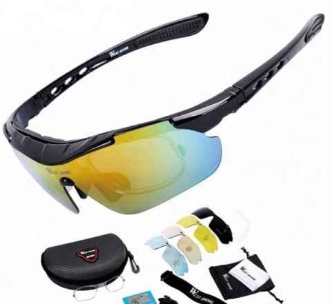 Велосипедные очки со сменными линзами - Фото #1