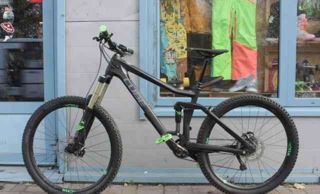 Двухподвес эндуро велосипед Куб Stereo 160 С:62