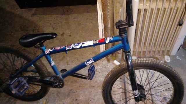 Bmx, трюковой велосипед