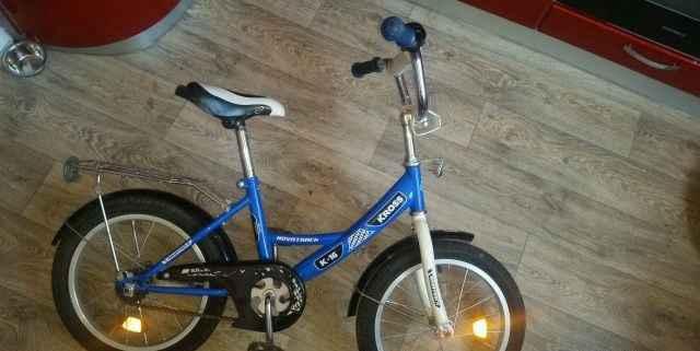 Велосипед 16дюймов для 4-6.5лет