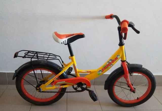 Велосипед Джуниор VCT 16 желтый б/у