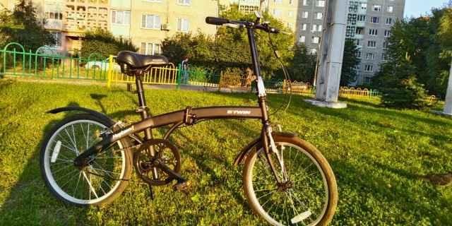 Складной дорожный велосипед