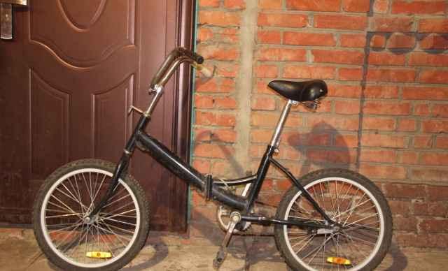 Велосипед марки Стелс. Чёрный. Б/у - Фото #1