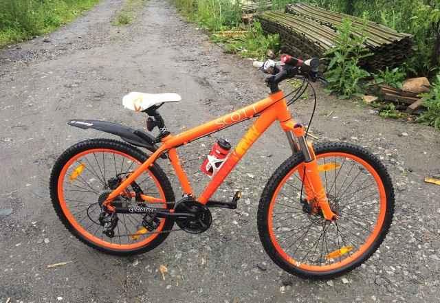 Велосипед scott Контесса 630 (оранжевый) - Фото #1