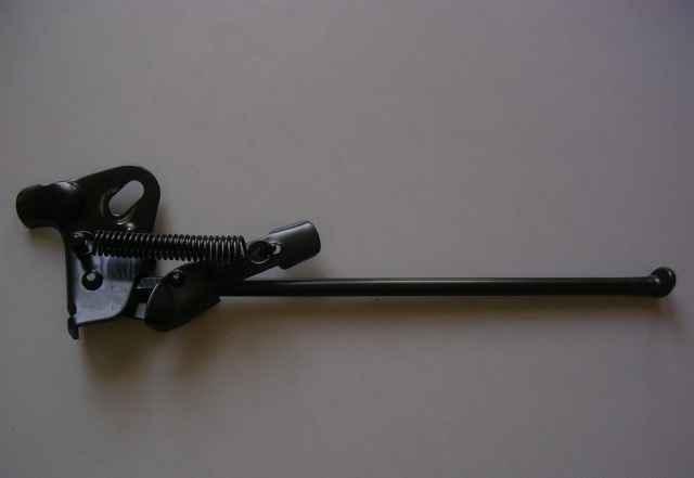 Подножка откидная черная - Фото #1