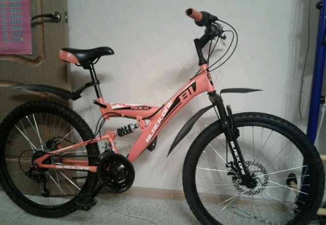 Подростковый двухподвес велосипед