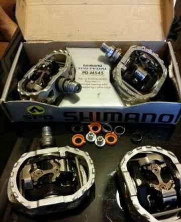 Контактные педали shimano pd-m545 - Фото #1