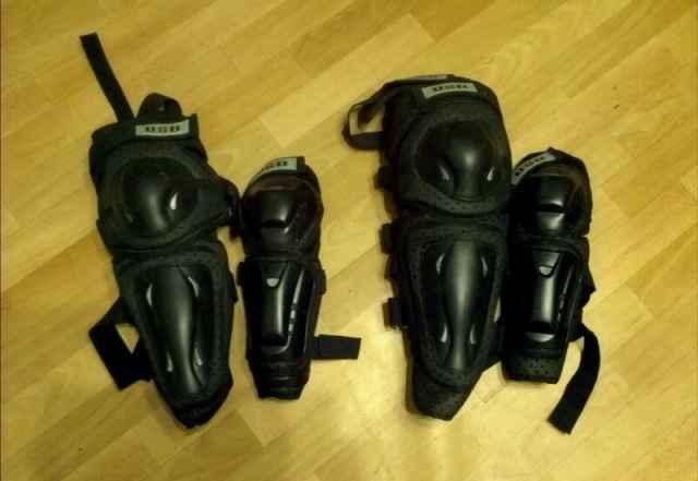 Защита колено/голень и локоть (мтб, бмх) - Фото #1