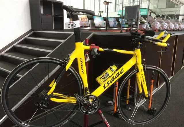 разделочный велосипед для триатлона Issac - Фото #1