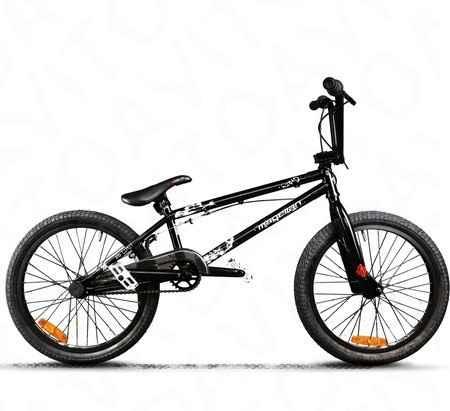 BMX crazy comp блак matt - Фото #1