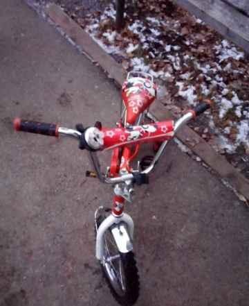 """велосипед """"Муляшка"""" для девочки"""