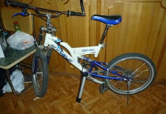 Велосипед Стелс Пилот 250 модифицированный