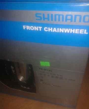 Система Shimano Tourney FC-M131, серебристая, 170м - Фото #1