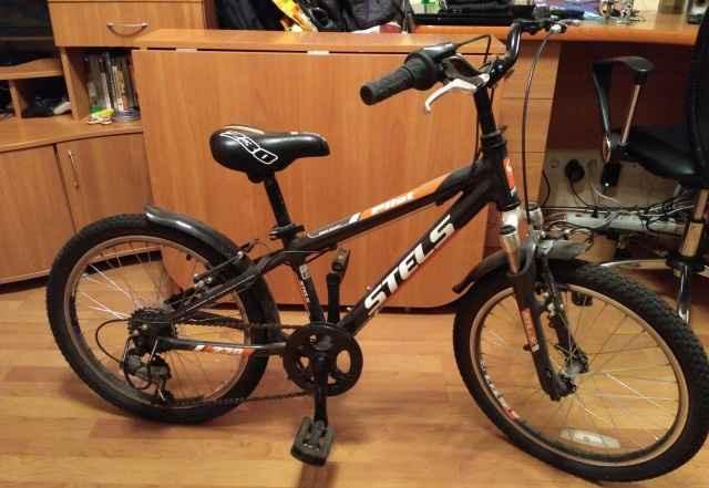 Детский велосипед Стелс Pilot 230 Boy черн/оранж