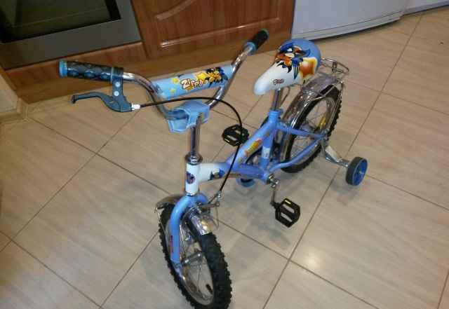 Двух-четырехколесный велосипед Zippi 14