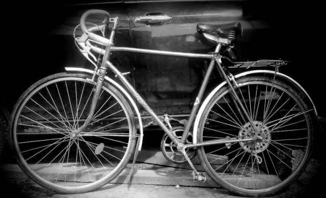 "Велосипед шоссейный Хвз ""турист"" 1987г"