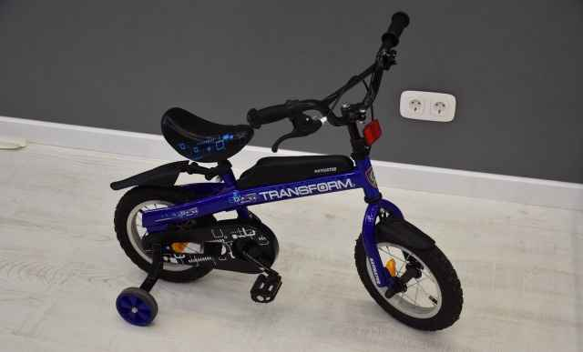 Велосипед-беговел (трансформер)