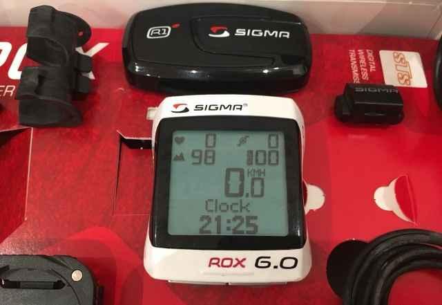 Велокомпьютер Sigma ROX 6.0 cad