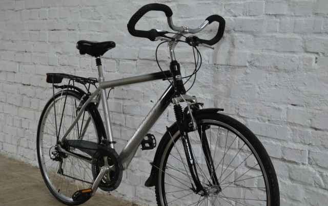 Велосипед (Германия), алюминий, 2 амортизатора, 28 - Фото #1