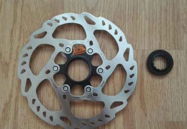 Роторы Shimano SLX RT70 M7000 Centre Lock 180мм - Фото #1