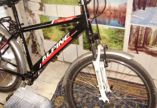 Велосипед Альпина bike Shaft Drive 30