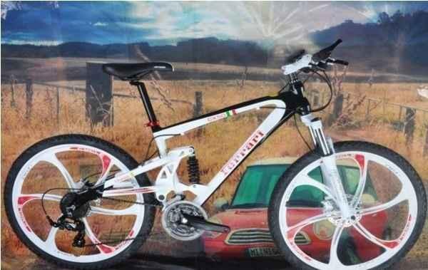 Велосипед на литых дисках (NDS-69321MND)
