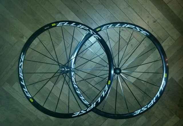 Колеса на велосипед fixed Gear Mavic Ellipse - Фото #1