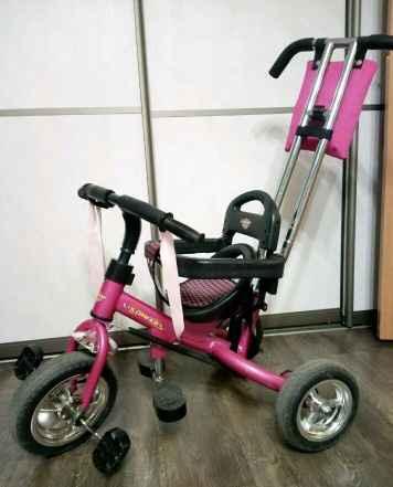 Велосипед трёхколёсный каталка - Фото #1
