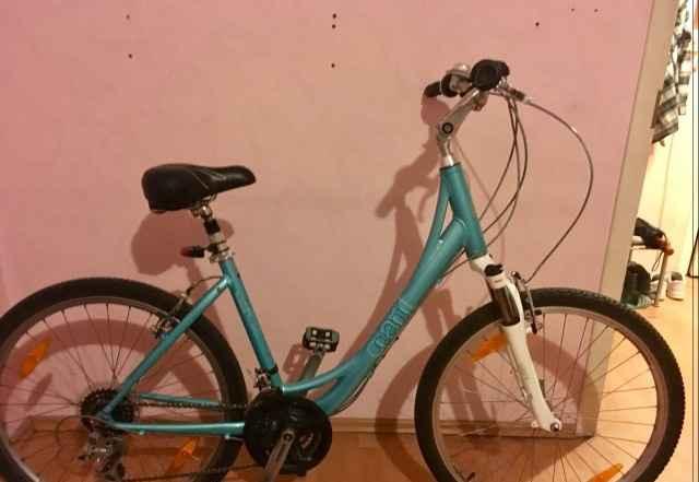 Женский велосипед Giant Sedona, бирюзовый, р. М - Фото #1