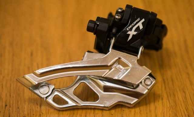 Передний переключатель Shimano Deore XT M786 - Фото #1