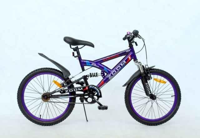 """Велосипед MTB 20"""" """"zoom"""" Strong (фиолетовый)"""