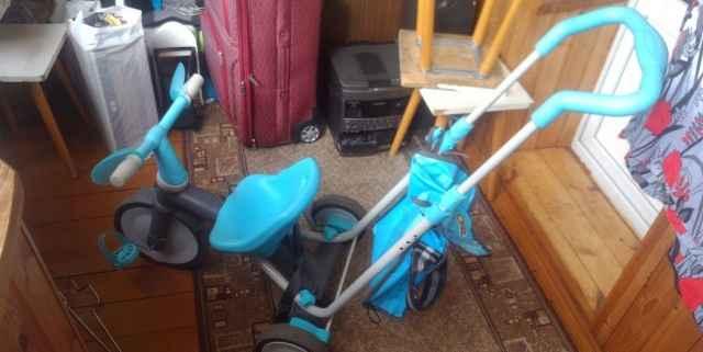 Трехколесный велосипед - коляска Джуниор Sky 3x3 - Фото #1