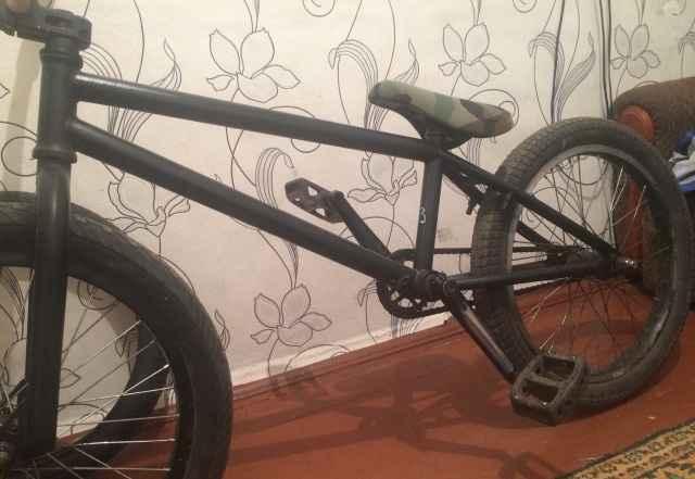 Велосипед bmx, на топовых запчастях и на втулке фр