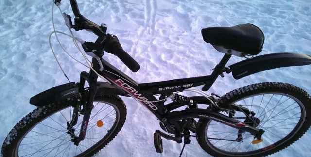 Велосипед Форвард двухподвесочный
