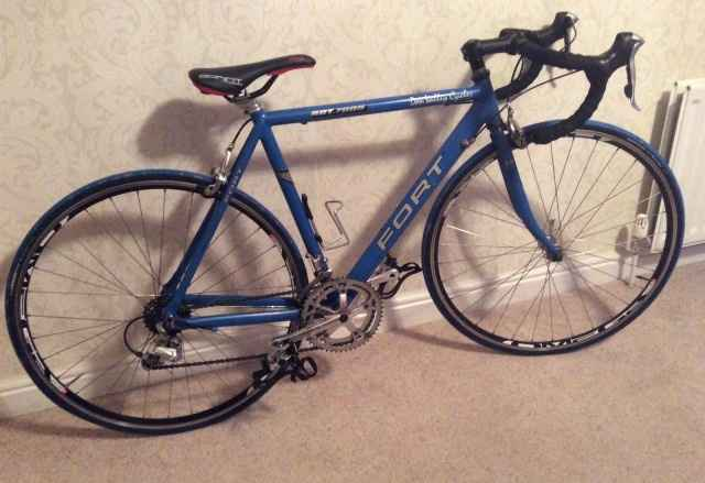 Шоссейный велосипед из Чехии