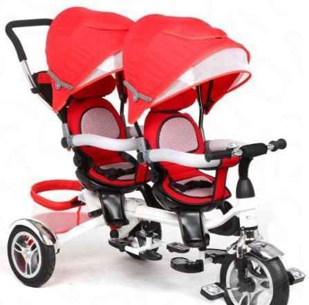 Велосипед для двойни Капелла твин trike 360
