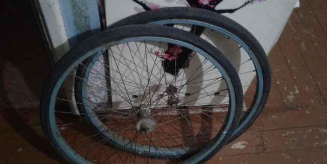 Седло, колеса - Фото #1