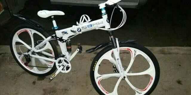 Велосипед новый бмв Х 6 на литых дисках