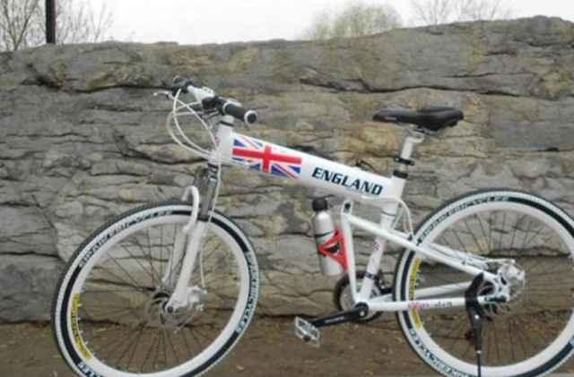 2-х подвесный складной велосипед для кросс-кантри - Фото #1