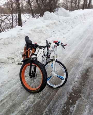 Велосипед мерс и фэтбайк - Фото #1