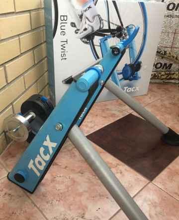 Велосипедный станок Tacx Blue Twist - Фото #1