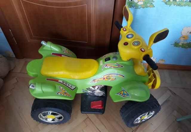 Квадроцикл детский с электроприводом - Фото #1