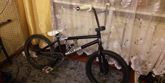 BMX на основе haro 350.2(2011)
