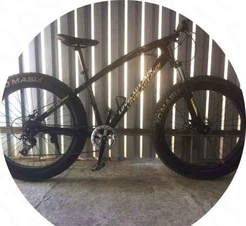 Велосипед FatBike 26'X7 спицы120кг New собранный