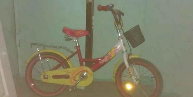 Детский велосипед для девочки Top Gear Junior