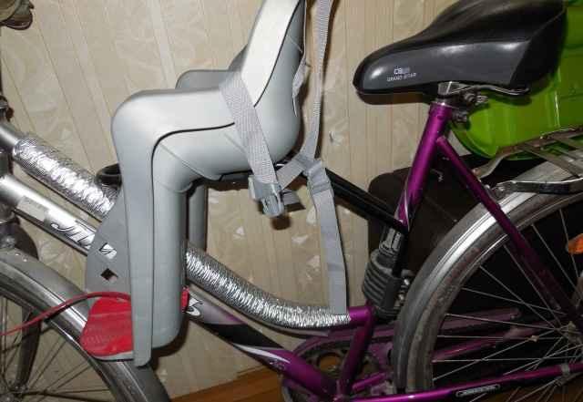 Детское кресло+велосипед - Фото #1