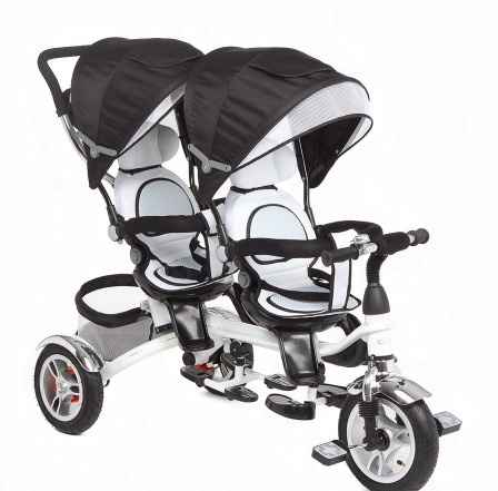 Велосипед для двойни (погодков) Capella Twin Trike