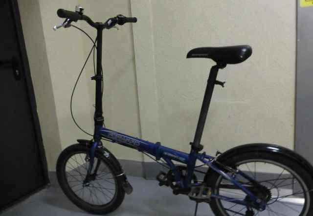 Велосипед складной алюминиевый 6 передач Доставлю