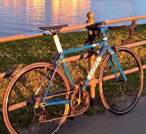 Шоссейный велосипед Giant, размер 48см, етт 535мм